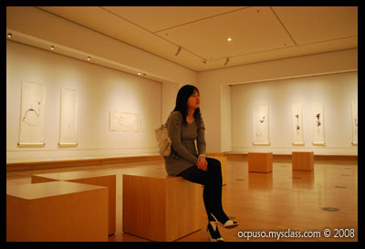Adok in Chinese Art Gallery - NGV