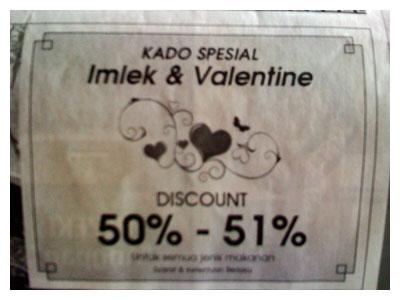 Discount 50-51%