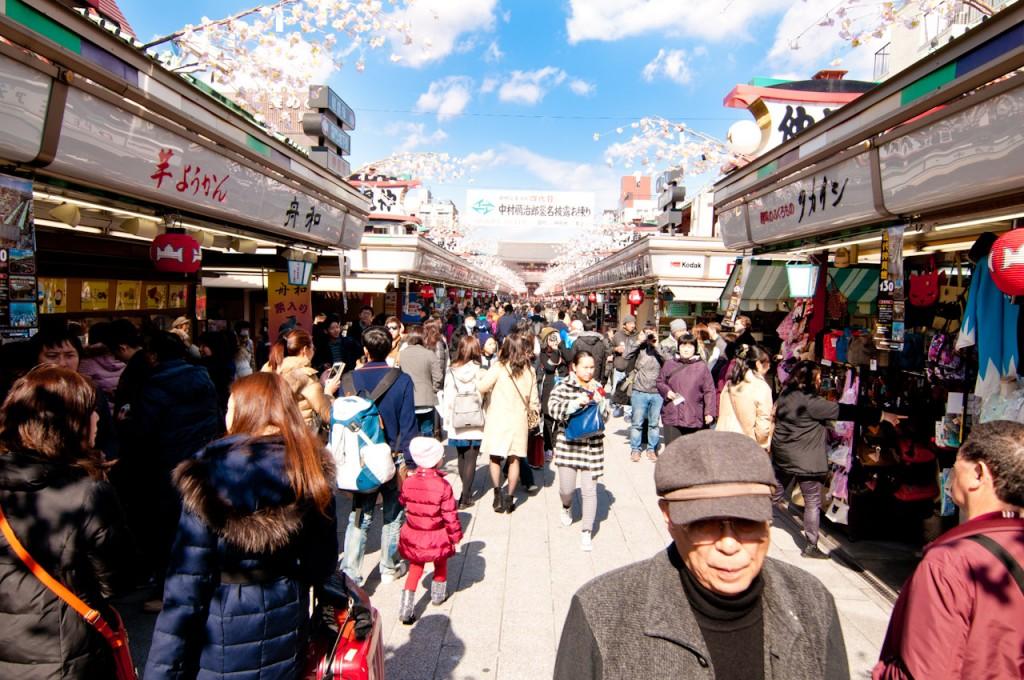 Asakusa's Nakamise St